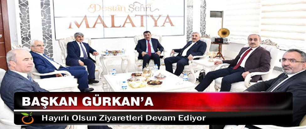 Başkan Gürkan'a Hayırlı Olsun Ziyaretleri Devam Ediyor
