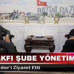 Birlik Vakfı Şube Yönetimi, Başkan Güder'i Ziyaret Etti